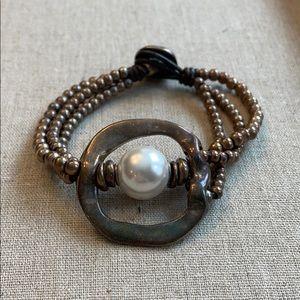 unode50 pearl of wisdom bracelet